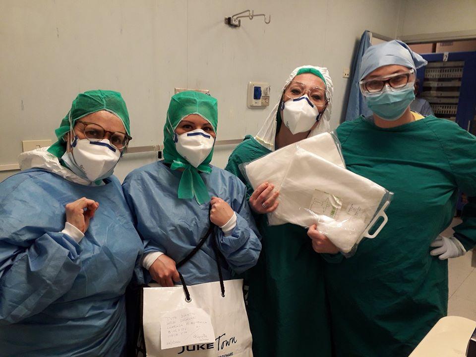 EMERGENZA CORONAVIRUS – Agli ospedali di Moncalieri e Carmagnola servono tute con cappuccio impermeabili