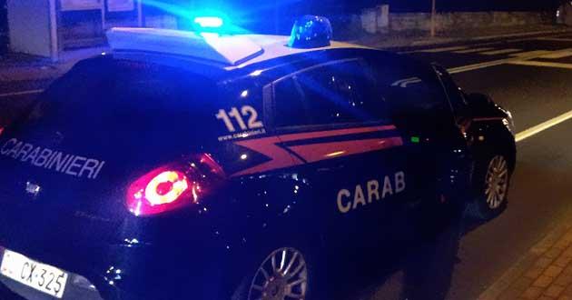 LA LOGGIA – Aggredisce il fratello e i carabinieri: arrestato