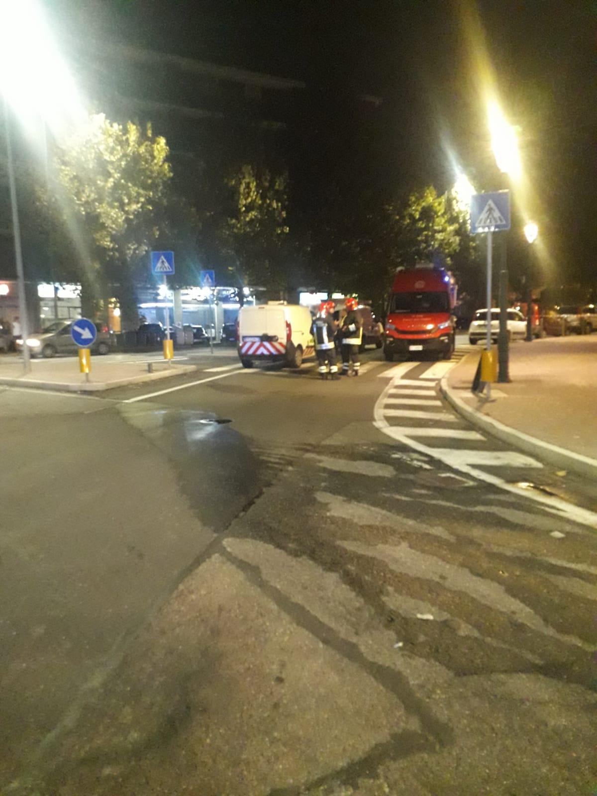 MONCALIERI – Fuga di gas in via Martiri: sabato sera di caos