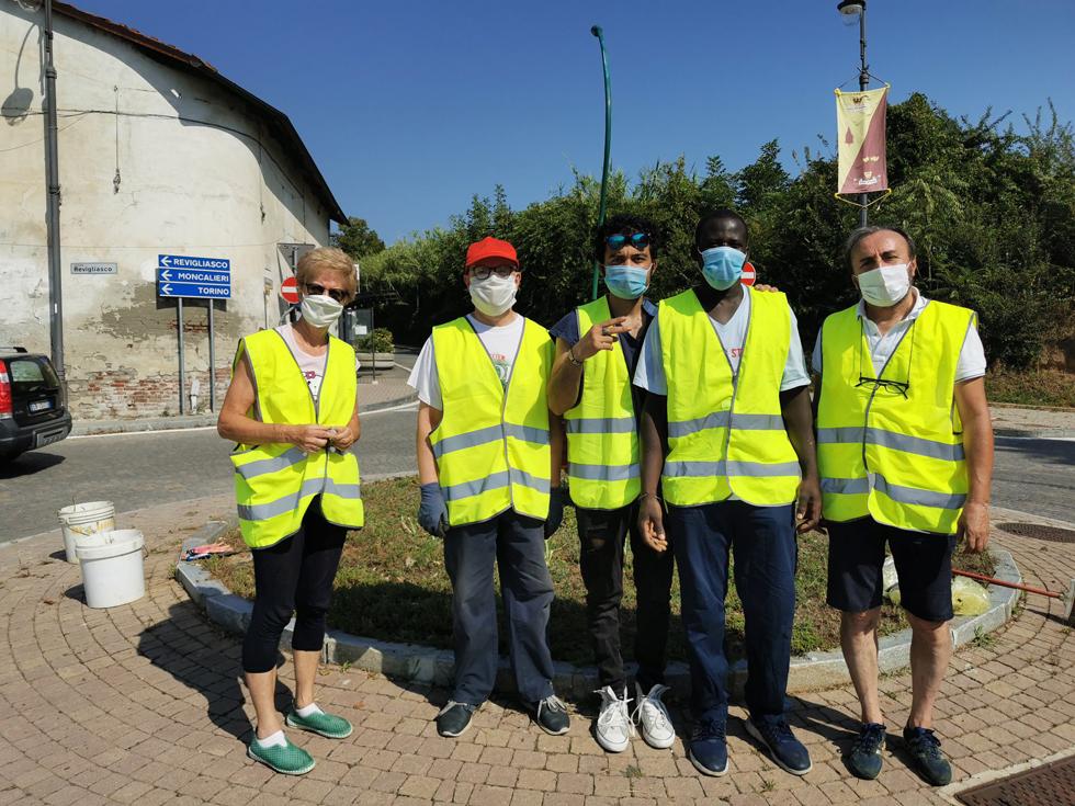 PECETTO – I «Volontari del verde» sono tornati in azione